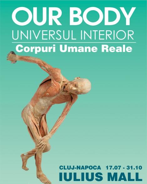 """O expozitie altfel : """"OUR BODY - Universul interior"""" @ 17 iulie Iulius Mall Cluj"""