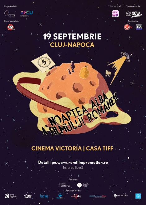 Filmul romanesc este vedeta la Cluj in 19 septembrie