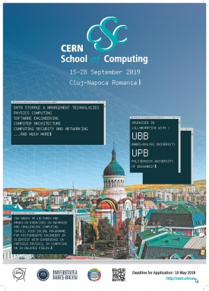 "UBB si Universitatea Politehnica din Bucuresti organizeaza ""CERN School of Computing"""