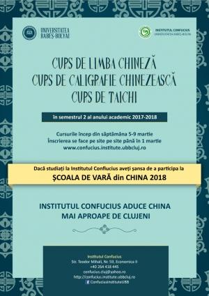 Institutul Confucius te invita sa vorbesti si sa scrii in chineza