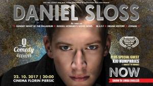 Umor negru si un super show in octombrie - Daniel Sloss vine la Cluj