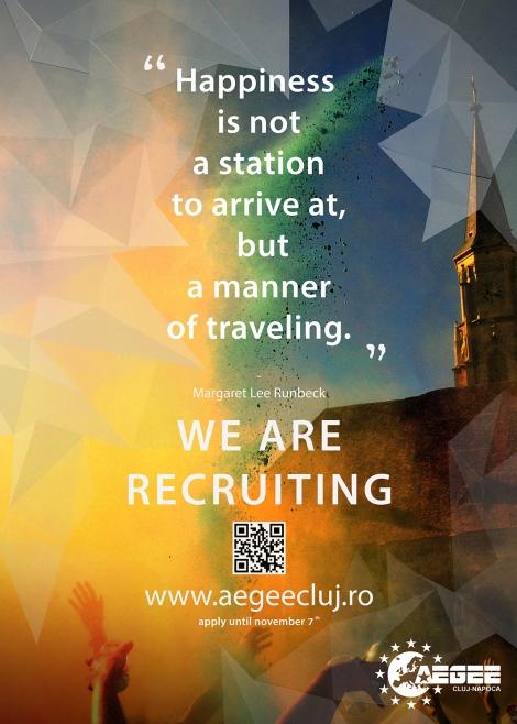 Hai in Europa cu AEGEE Cluj-Napoca!