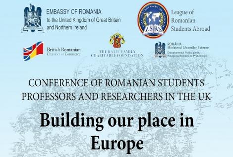 """Participa la """"Conferinta Studentilor, Profesorilor si Cercetatorilor Romani din Marea Britanie"""""""