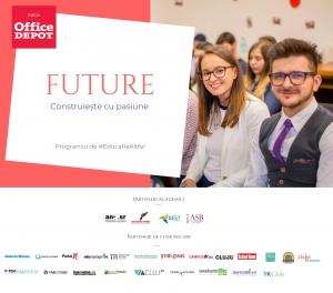 FUTURE – Construieste cu pasiune, programul de educatie altfel ce pregateste tinerii pentru primul loc de munca