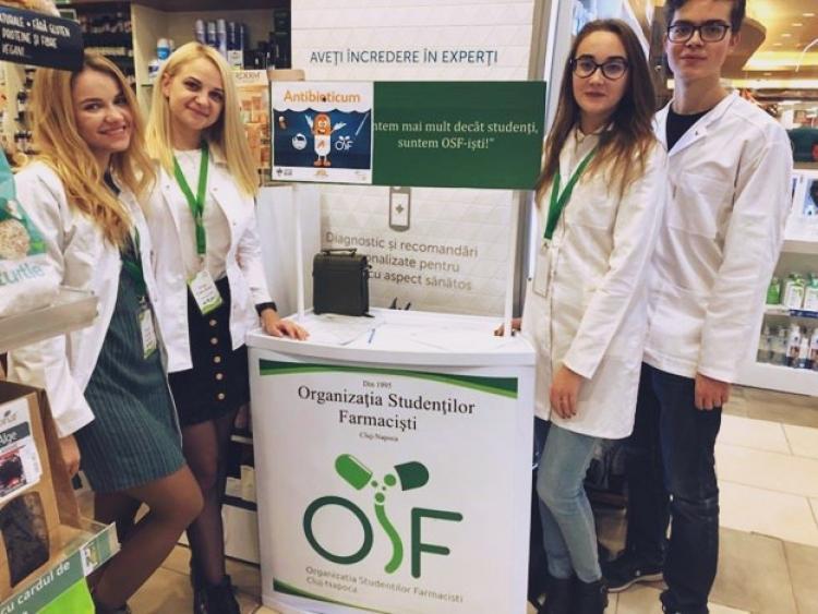 Studentii farmacisti au inceput lupta impotriva consumului exagerat de antibiotice