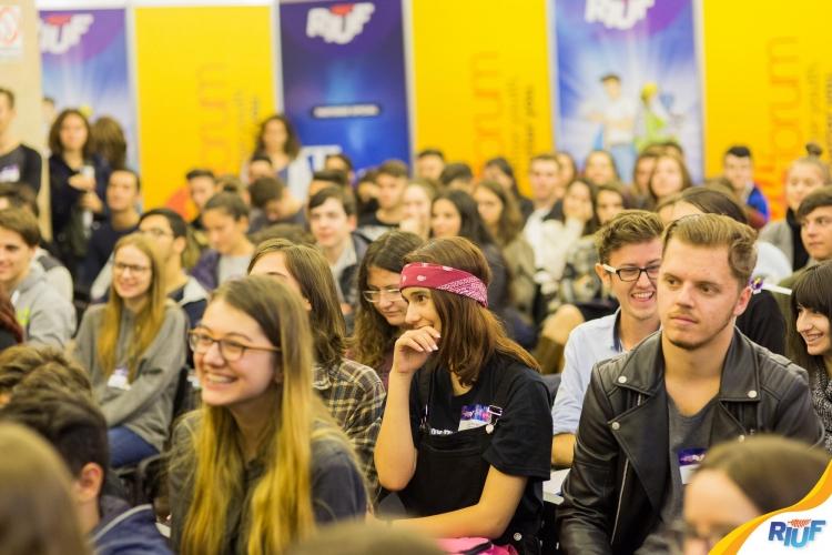 Conferinta RIUF YouForum - despre educatie si orientare in cariera (pe intelesul tuturor)