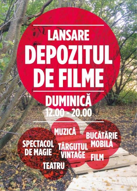 Se redeschide Depozitul de Filme din Cluj @ 19 octombrie