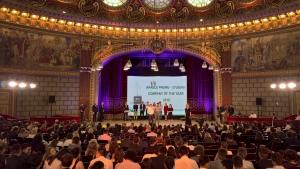 Castigatoarea marelui premiu a competitiei de antreprenoriat JA Company of the Year 2018 a fost desemnata echipa BEaTech de la UTCN