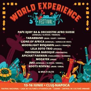 WORLD EXPERIENCE FESTIVAL - un spectacol-eveniment unic despre muzica si sunetele lumii