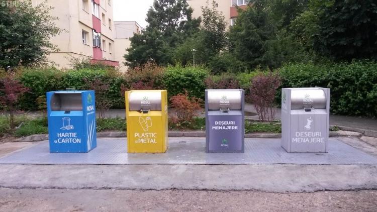Colectarea selectiva a deseurilor va fi obligatorie din 1 iulie in Cluj-Napoca
