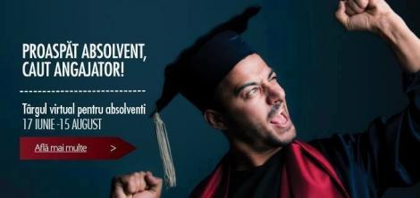 Targul virtual Hipo.ro pentru absolventi pune la bataie peste 600 de joburi