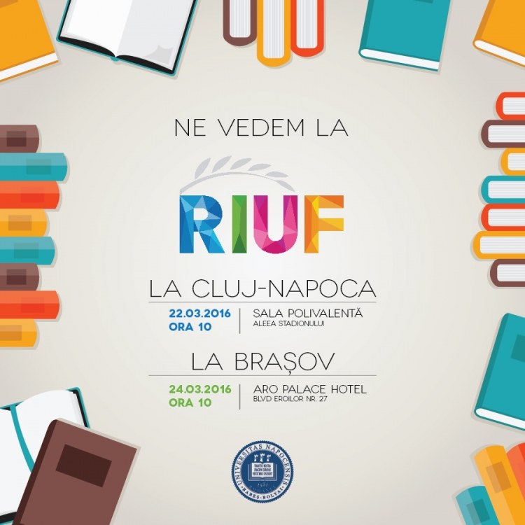 UBB e prezenta la RIUF cu oferta educationala