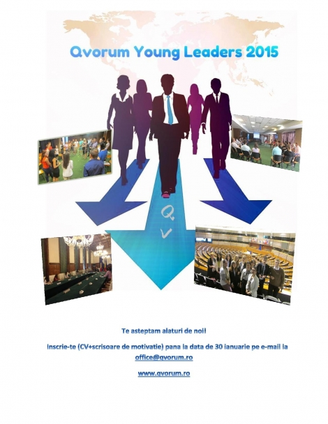 Participa la Qvorum Young Leaders 2015