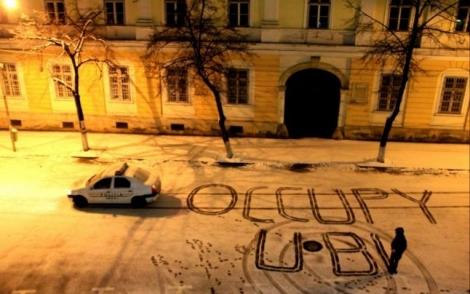 Primele solicitari ale studentilor care au ocupat UBB