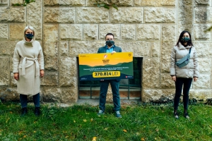 Peste 370.000 de lei stransi pentru batranii singuri din Cluj la Walking Month 2020