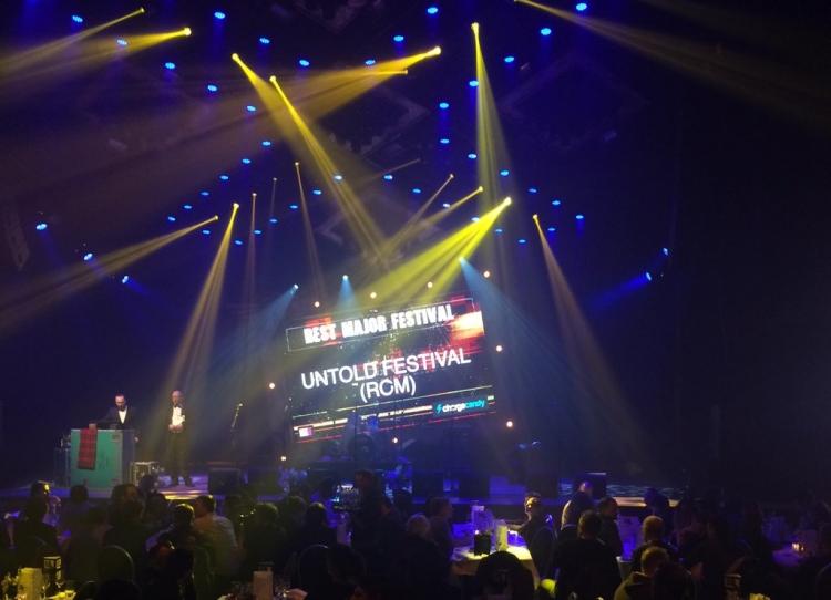 UNTOLD a castigat titlul de Best Major Festival 2015
