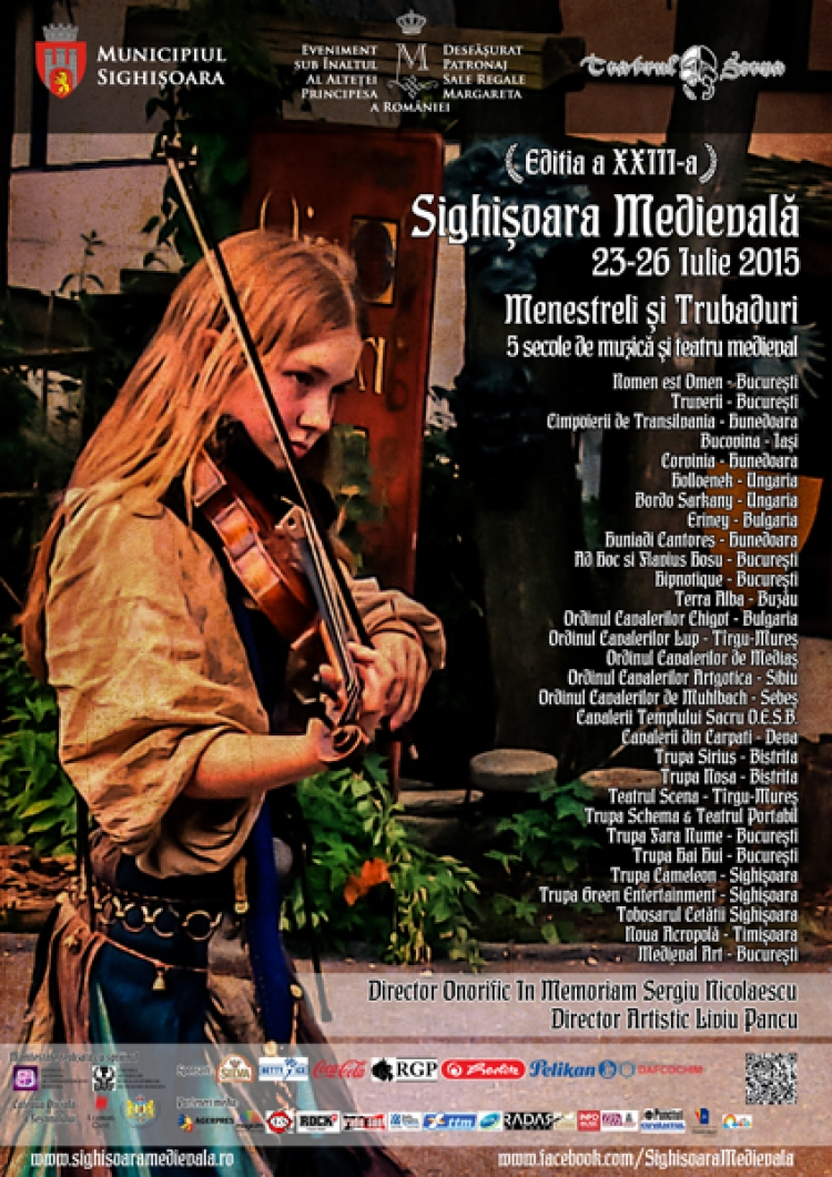 Sighisoara vrea sa bata 3 recorduri mondiale la Festivalul Medieval din acest an