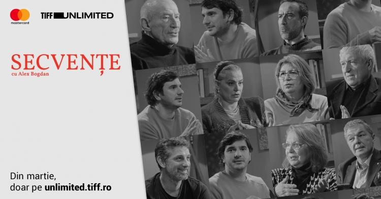 """Mari actori povestesc cum au jucat scene celebre in seria """"Secvente"""", pe TIFF Unlimited"""