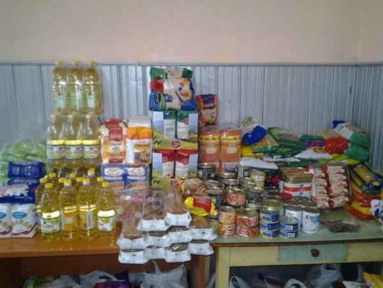 900 de kilograme de alimente au strans voluntarii de la FSPAC