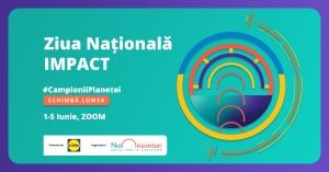 Tinerii care schimba lumea se intalnesc online la Ziua Nationala IMPACT