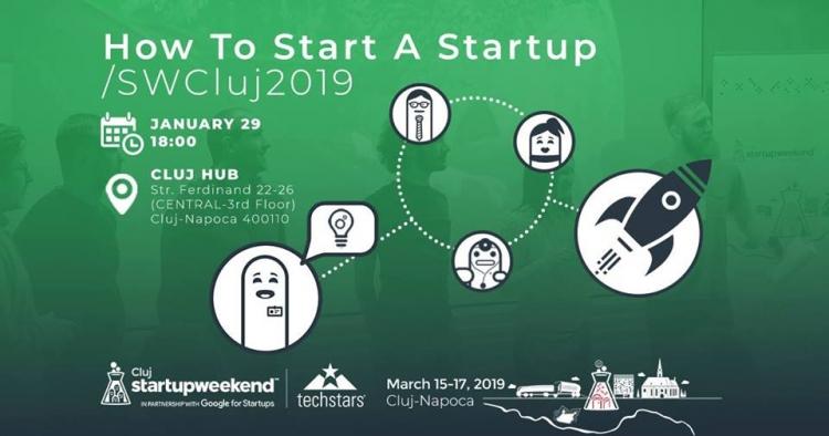 Ce se intampla pe parcursul celor 3 zile de Startup Weekend Cluj 2019?