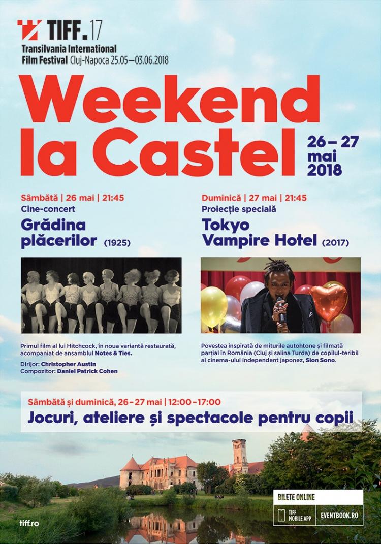 Pe 26 si 27 mai, Weekend la Castel revine la cea de-a 17-a editie a TIFF