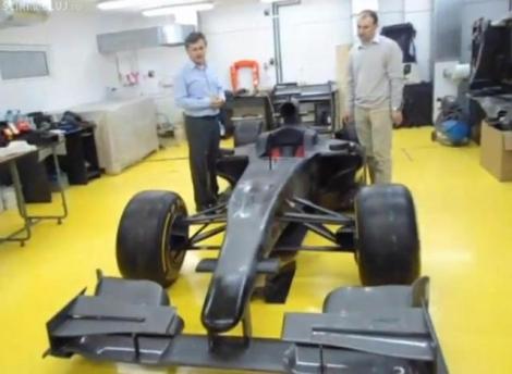 Studentii de la Universitatea Tehnica construiesc o masina de Formula 1