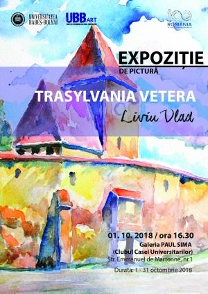"Vernisajul expozitiei de pictura ""Transylvania vetera"" desfasurat la UBB"
