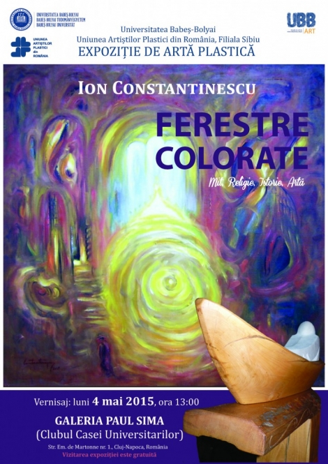 """Lucian Blaga va fi omagiat in cadrul expozitiei """"Ferestre colorate"""""""