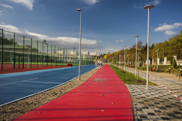 Cum arata cel mai nou complex sportiv din Cluj