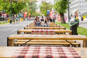 Incepe Street FOOD Festival pe Aleea Stadionului - 4 zile de mancare buna si muzica extraordinara