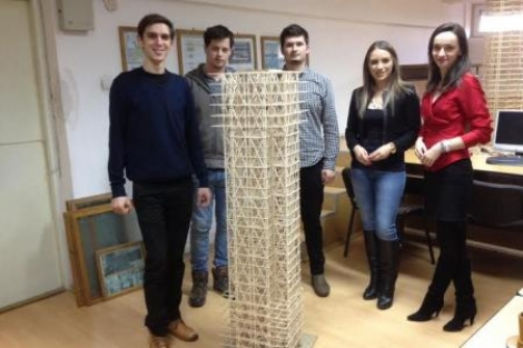 Locul al doilea pentru studentii UTCN la concursul Seismic Design Competition