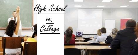 Viata de facultate vs. liceu