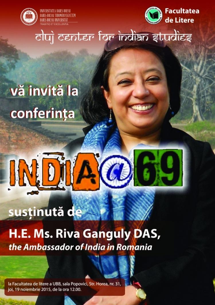 """Conferita """"India@69"""" va avea loc la UBB luna aceasta"""