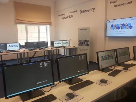 Gigantul Samsung a inaugurat un laborator performant pentru studentii UT-isti