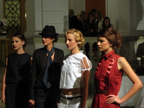 Exodus Reinvented Interbelic Fashion Show la Cluj