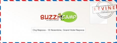 Ia-ti cetatenia BuzzCamp!  Sase companii de top la BuzzCamp Cluj @ 18 noiembrie Grand Hotel Napoca