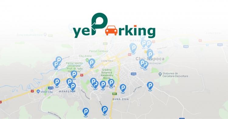 Finantare importanta pentru aplicatia yeParking din Cluj