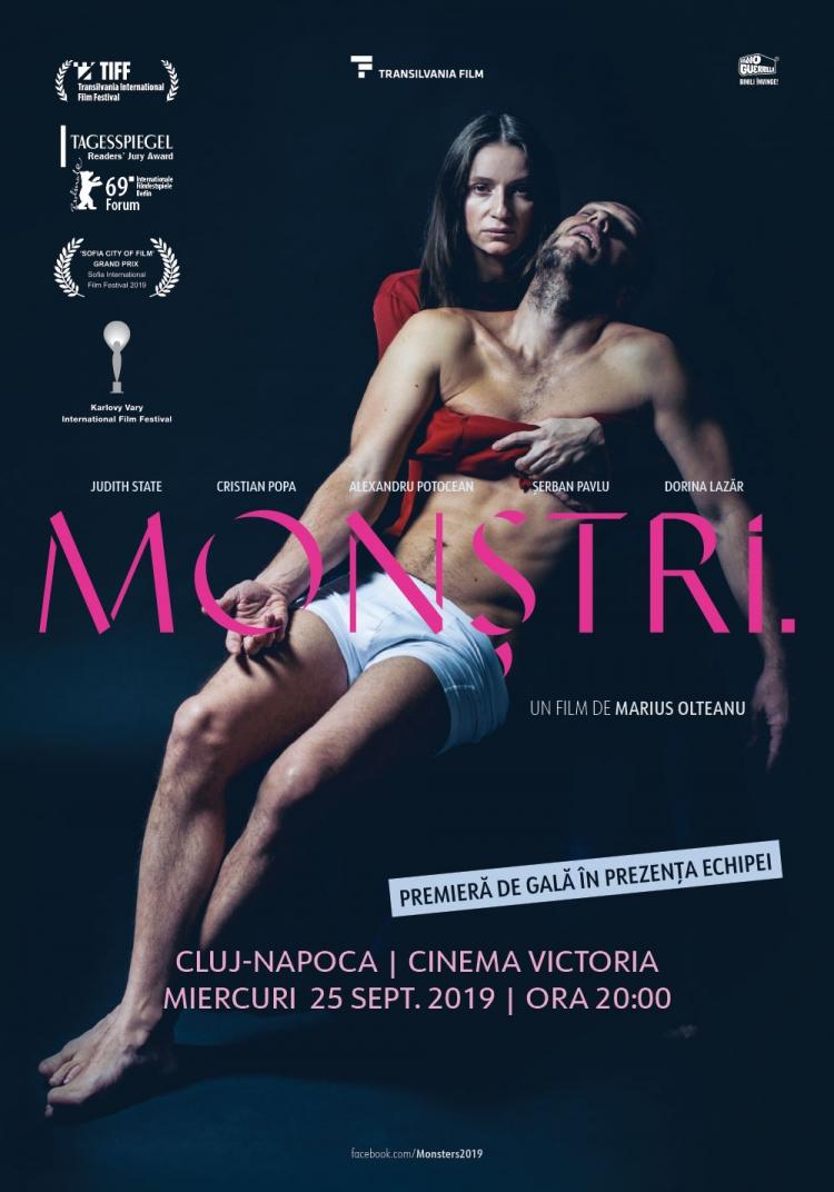 """Monstri."", filmul romanesc premiat la Berlinala, ajunge la Cluj-Napoca intr-o proiectie de gala in prezenta echipei"