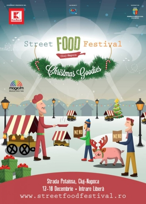 Street FOOD Festival Christmas Goodies incepe azi in Piata Muzeului