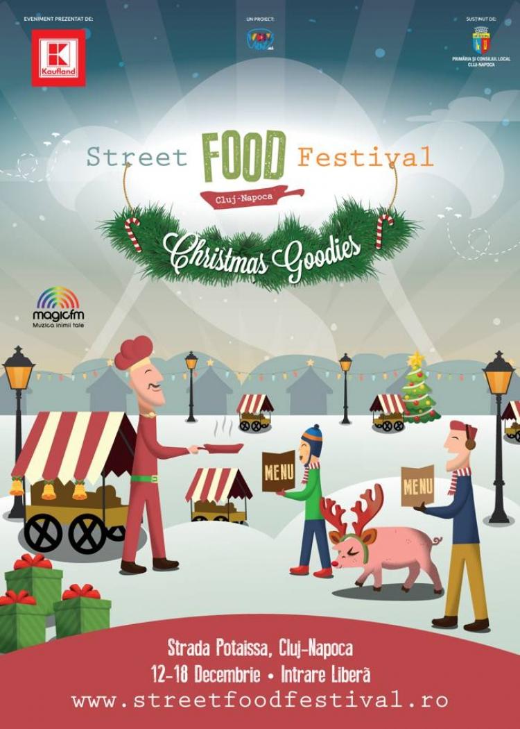Street FOOD Festival Christmas Goodies incepe azi in Piata Muzeului