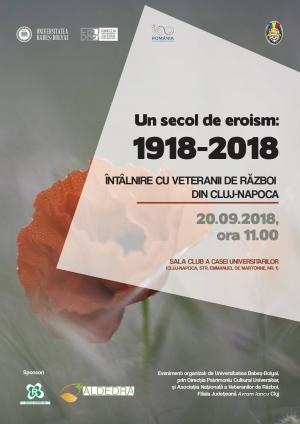 Veteranii clujeni vor fi omagiati la UBB