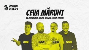 Stand-up, teatru, filme de comedie si multe surprize la cea de-a noua editie Comedy Cluj