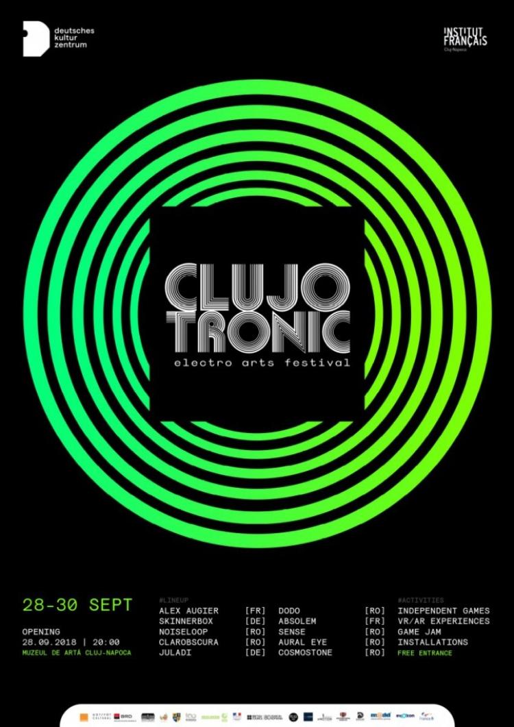 Clujotronic va reuni anul acesta proiecte inovatoare de arta digitala contemporana din domeniile muzicii, artei vizuale si a jocurilor video