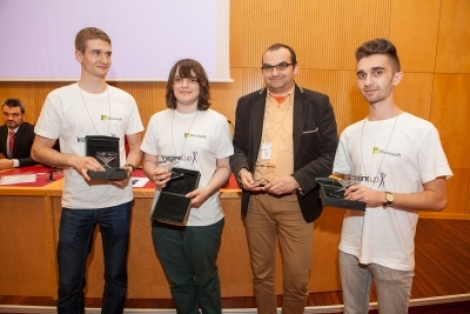 O echipa de studenti de la UBB a fost selectionata in finala internationala Imagine Cup, din SUA