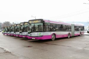 Inca 30 autobuze Mercedes-Benz Conecto au intrat in circulatie in municipiul Cluj-Napoca
