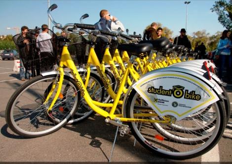 Biciclete Raiffeisen pentru studenti si in Cluj