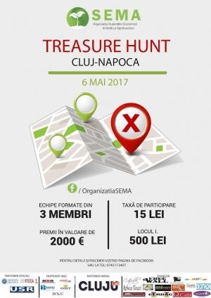 Cel mai mare Treasure Hunt din Cluj-Napoca revine cu o nouă editie