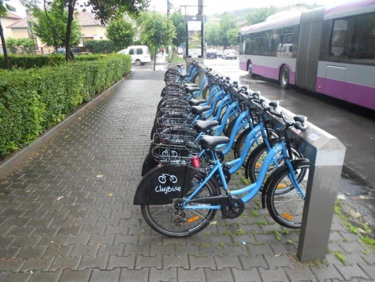 Primaria Cluj-Napoca va elibera 3.500 de carduri noi de utilizator pentru sistemul de bike sharing