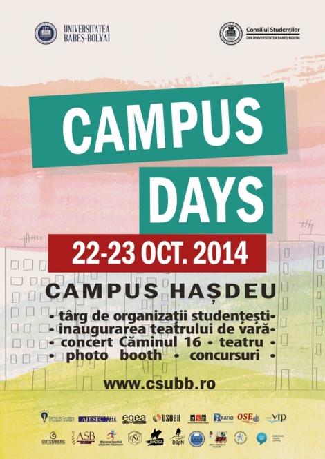 Hasdeul isi va sarbatori zilele sub egida proiectului Campus Days